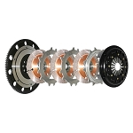 Competition Clutch Triple Disc 4T-5152-C 184mm Rigid Triple Disc Clutch Kit Mitsubishi Lancer Evolution 7-9 4g63